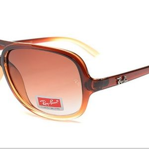 Accessories - Ray Ban Rb4162 Sunglasses Crystal Brown Frame